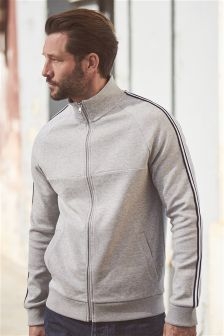 Zip Through Sweat Top
