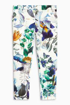 Floral Print Capri Trousers (3-16yrs)