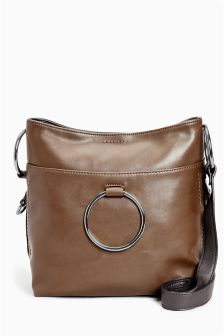 Across-The-Body Bucket Bag