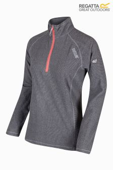 Regatta Grey Half Zip Fleece