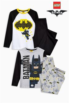 Lego Batman® Pyjamas Two Pack (4-10yrs)