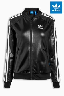 adidas Originals Black Superstar Tracktop