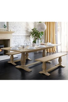 Hardwick Double 6-10 Seater Extending Dining Table