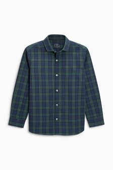 Long Sleeve Smart Check Shirt (3-16yrs)