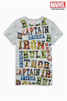 Avengers Slogan T-Shirt (3-16yrs)