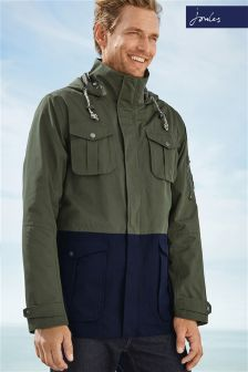 Joules Green Breakwater Jacket