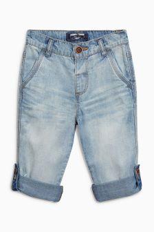 Lightweight Roll Hem Jeans (3mths-6yrs)