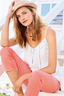 Button Front Casual Cami