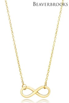 Beaverbrooks 9ct Gold Infinity Necklace