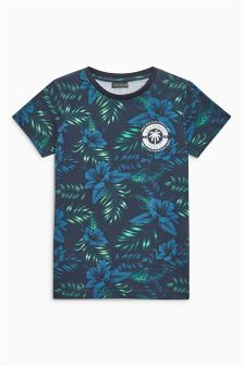 Floral All Over Print T-Shirt (3-16yrs)