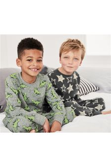 Dino/Star Pyjamas Two Pack (3-16yrs)
