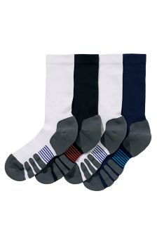 Technical Sports Socks Four Pack