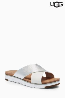 UGG® Metallic Cross Strap Mule