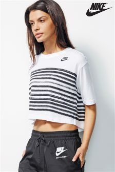 Nike White Stripe Tee