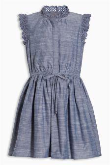 Lace Shirt Dress (3-16yrs)