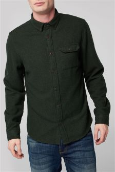 Long Sleeve Shirt With Wool