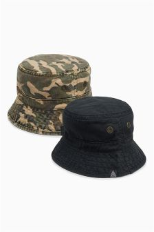 Fishermans Hat Two Pack (Older Boys)