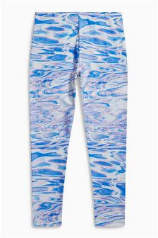 Water Print Leggings (3-16yrs)
