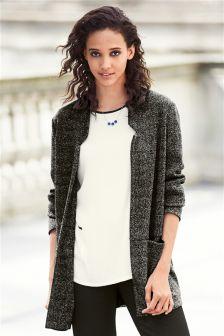 Knit Look Jacket