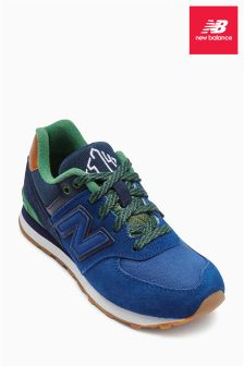 New Balance Blue 574 Trainer