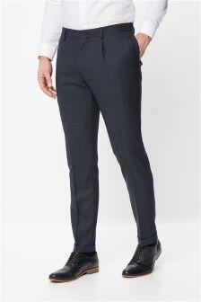 Wool Mix Fashion Trousers