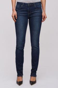"Jigsaw Blue 32"" Windsor Indigo Straight Jean"