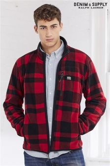 Ralph Lauren Denim & Supply Buffalo Check Fleece