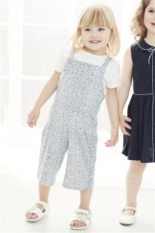Ditsy Playsuit (3mths-6yrs)