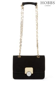 Hobbs Black Pimlico Mini Bag
