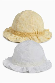 Jersey Hats Two Pack (0mths-2yrs)