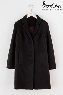 Boden Black Jennie Coat