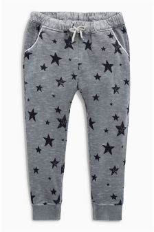 Star Printed Joggers (3mths-6yrs)