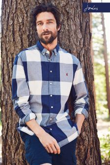 Joules Check Whitaker Classic Fit Shirt