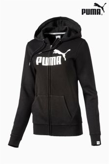 Puma® Gym Black Essential Full Zip Hoody