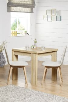 Madsen 6 Seater Square To Rectangle Dining Table