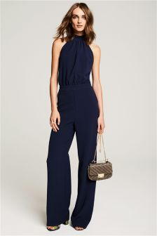 Strap Back Jumpsuit