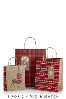 Set Of 3 Hibernate Stag Bags
