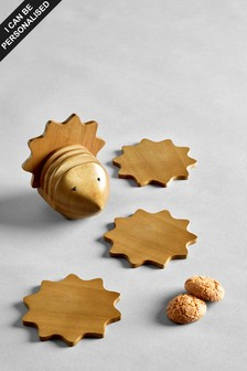Set of 4 Hedgehog Coaster Holders
