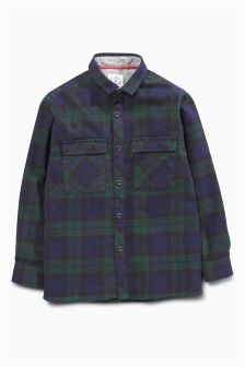 Black Watch Long Sleeve Check Shirt (3-16yrs)