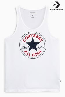 Converse White Chuck Patch Tank