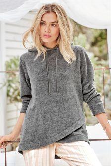 Hooded Fleece Top