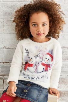 Christmas Snowman Fleece (3mths-6yrs)