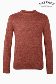 Fat Face Redwood Cotton Cashmere Crew