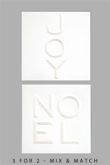 8 Emboss Words Cards