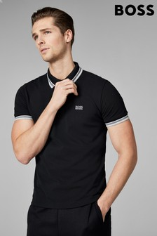 Hugo Boss Green Tipped Paddy Poloshirt