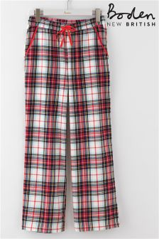 Boden Red Check Pyjama Pant