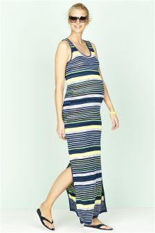 Maternity Knit Maxi Dress