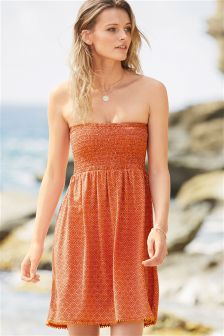 Bandeau Short Dress