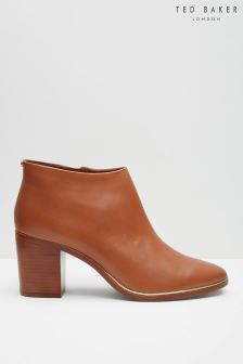 Ted Baker Tan Leather Ankle Boot