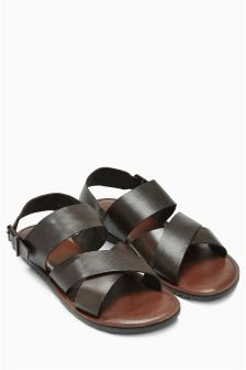 Leather Back Strap Sandal